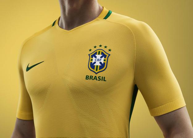 Nike Brasil 2016 National Home Ki