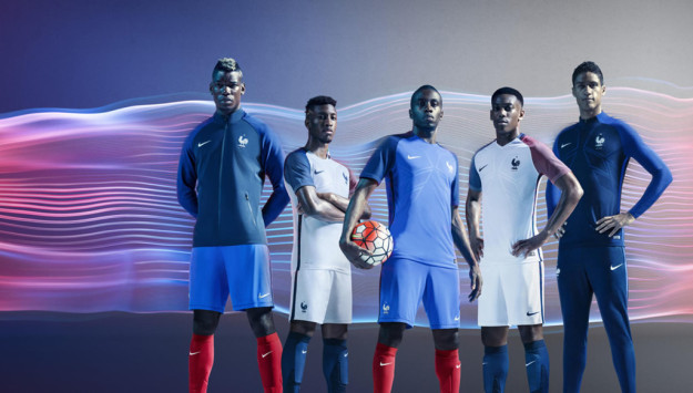 Nike France 2016 National Football Kits