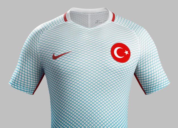 Nike Turkey 2016 National Away Kit