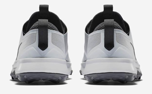 PLatinum FI Bermuda Golf Shoe by Nike, Heel Tab