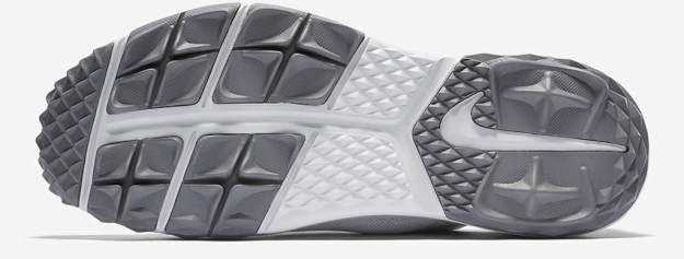 PLatinum Nike FI Bermuda Golf Shoe, sole