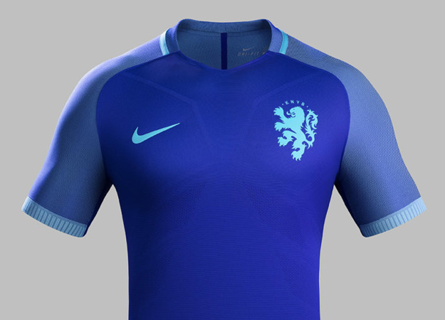 The Netherlands 2016 National Away Kit Jersey