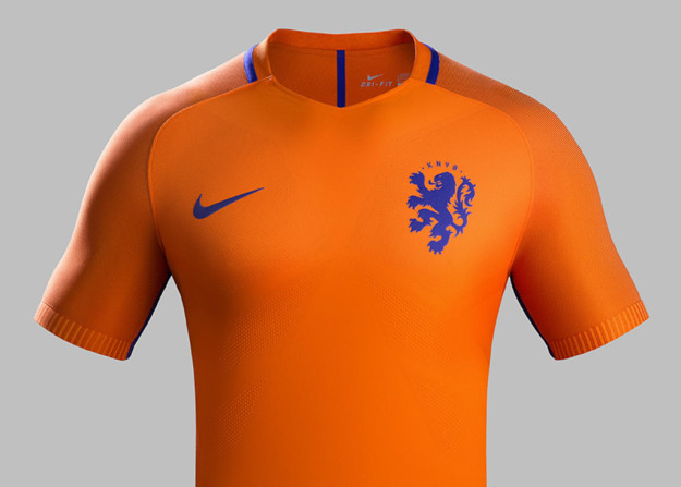 The Netherlands 2016 National Home Kit Jersey