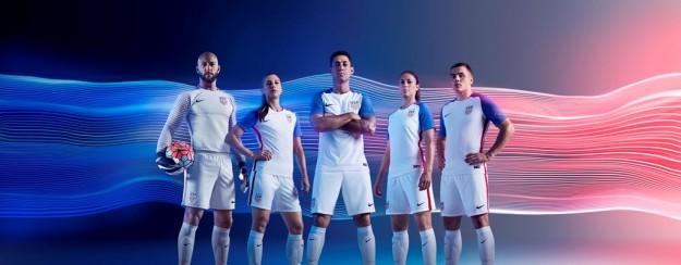 USA 2016 National Men's Home Kit