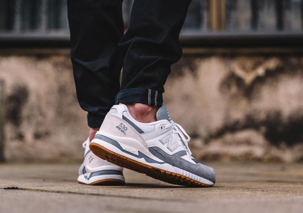 White-Grey New Balance 530 Men's Running Shoes