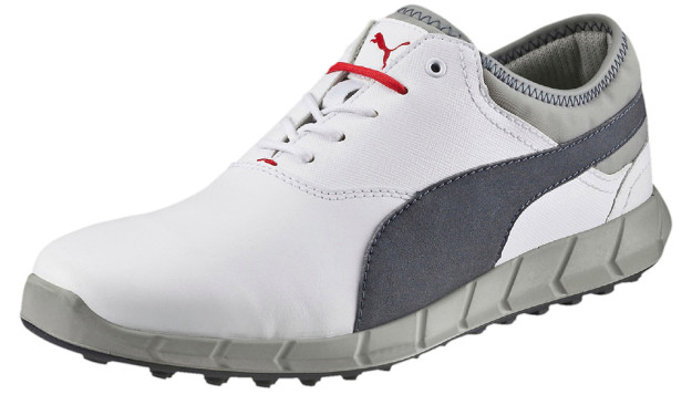 White-Grey Puma IGNITE Golf Shoes
