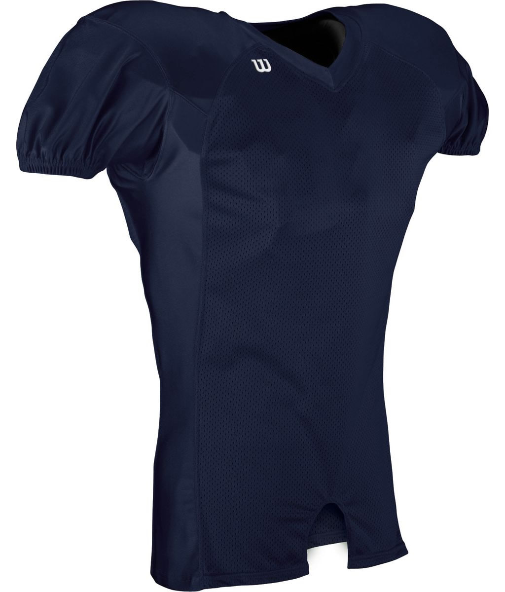 Wilson Fit Football Jersey, Navy