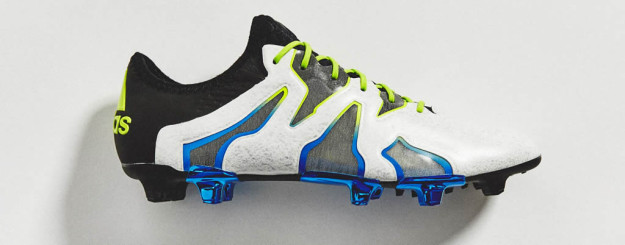X15+ SL Football Boots by Adidas, Side