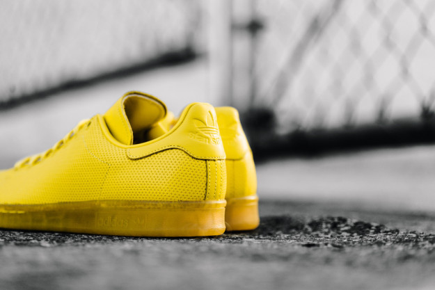 Yellow Adidas Stan Smith Shoes