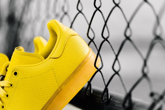 Yellow Stan Smith Shoes By Adidas