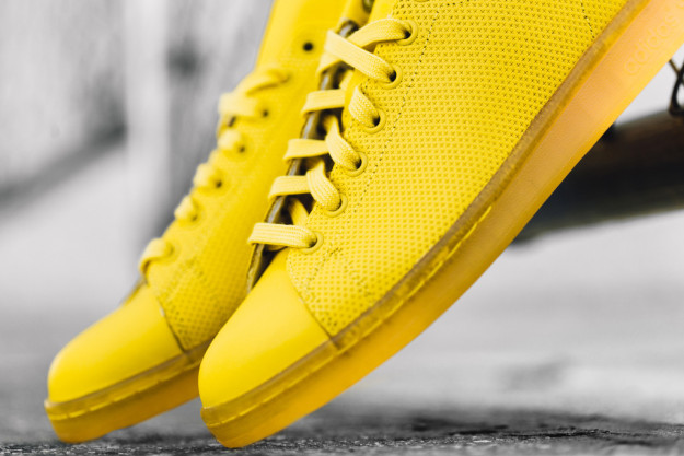 Yellow Stan Smith Sneakers By Adidas
