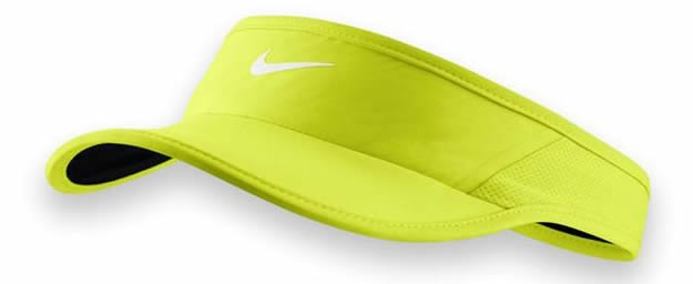 370734ca Yellow Women's Feather Light 2.0 Visor By Nike