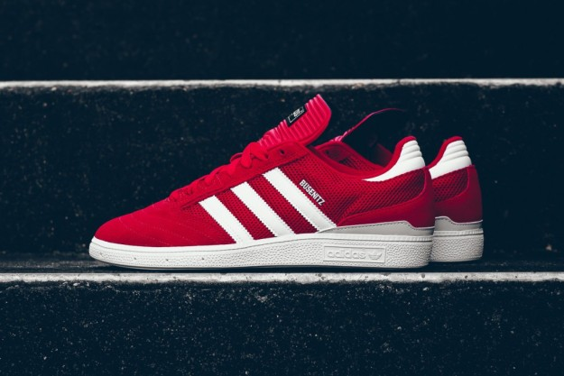 100% authentic 04165 0025b adidas Busenitz Skate Shoe In Red-White