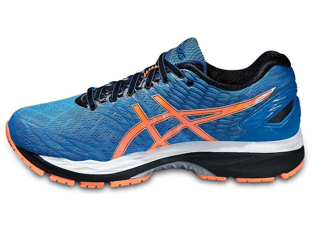 asics gel nimbus 18 running shoes for men. Black Bedroom Furniture Sets. Home Design Ideas