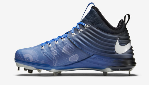 Blue Lunar Trout 2 Baseball Cleats by Nike