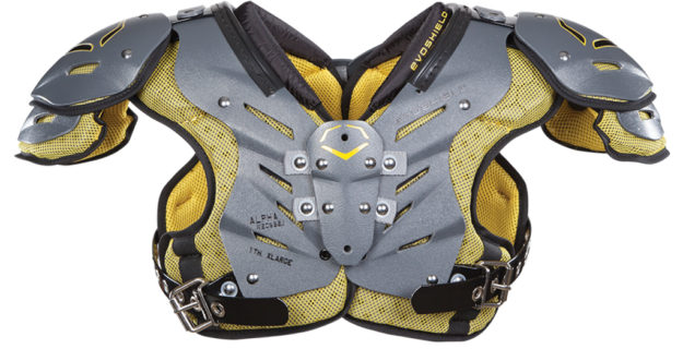 EvoShield EvoAlpha Youth Football Shoulder Pads
