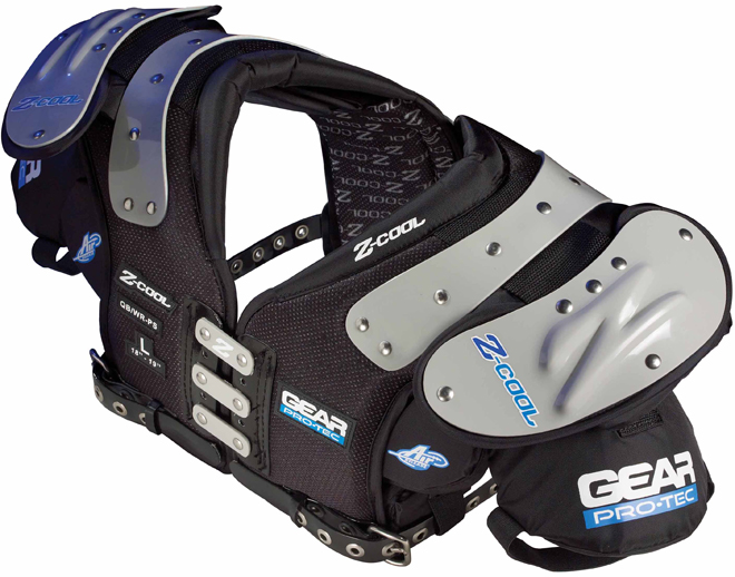 Gear Pro-Tec Z-Cool Junior Varsity Football Shoulder Pads