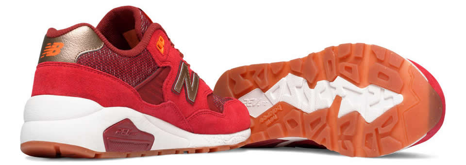 New Balance Red 580 Elite Sneaker, Sole