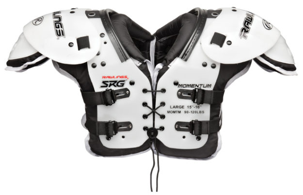 Rawlings SRG Momentum Youth Football Shoulder Pads