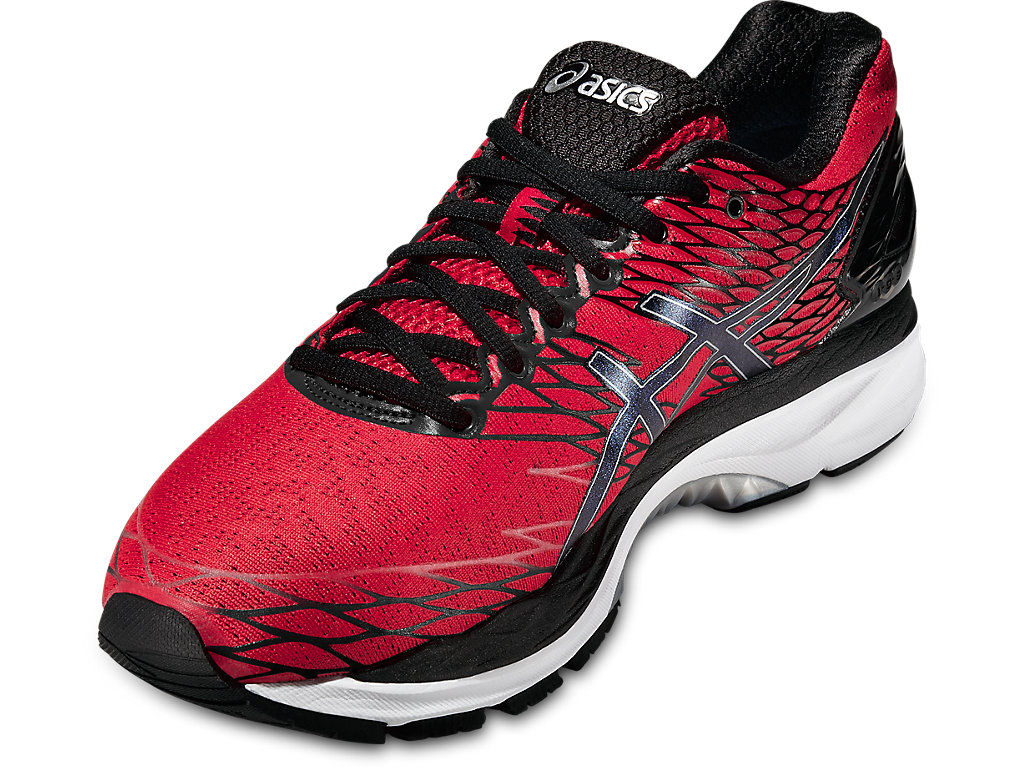 Red Gel-Nimbus 18 Running Shoes by Asics