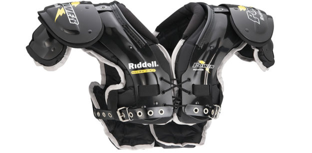 Riddell Power Phantom Youth Football Shoulder Pads