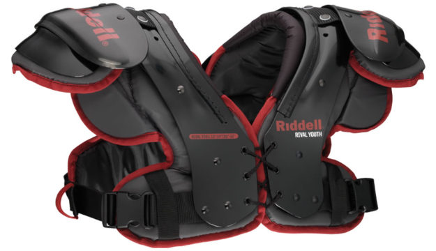 Riddell Rival Youth Football Shoulder Pads