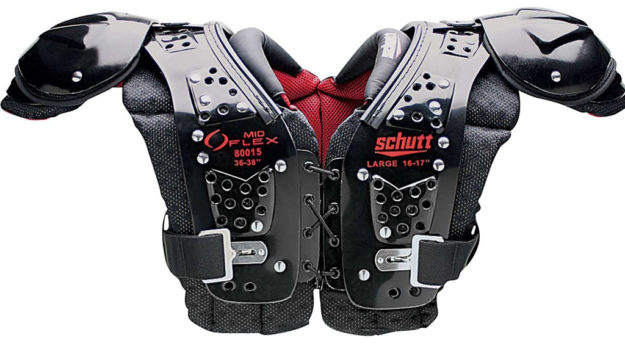 Schutt Mid Flex 2.0 Youth Football Shoulder Pads