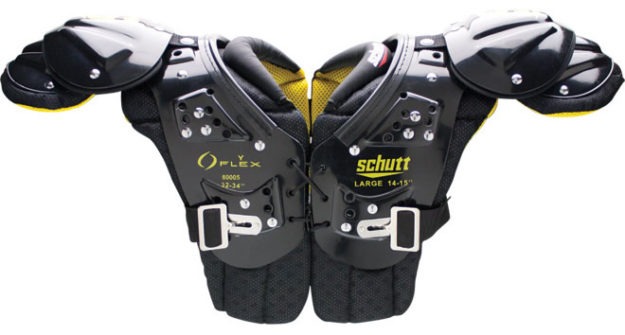 Schutt Y Flex 2.0 All Purpose Youth Football Shoulder Pads