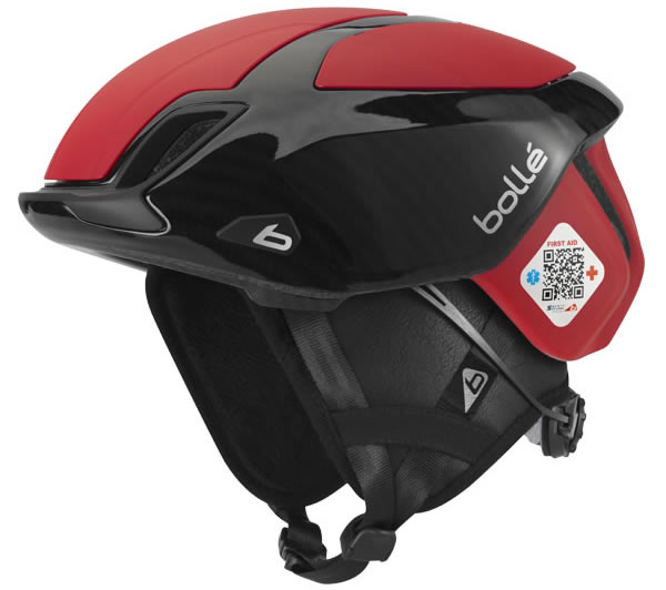 Red Bollé The One Bicycle Helmet