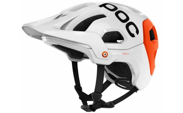 White Poc Tectal Race Helmet