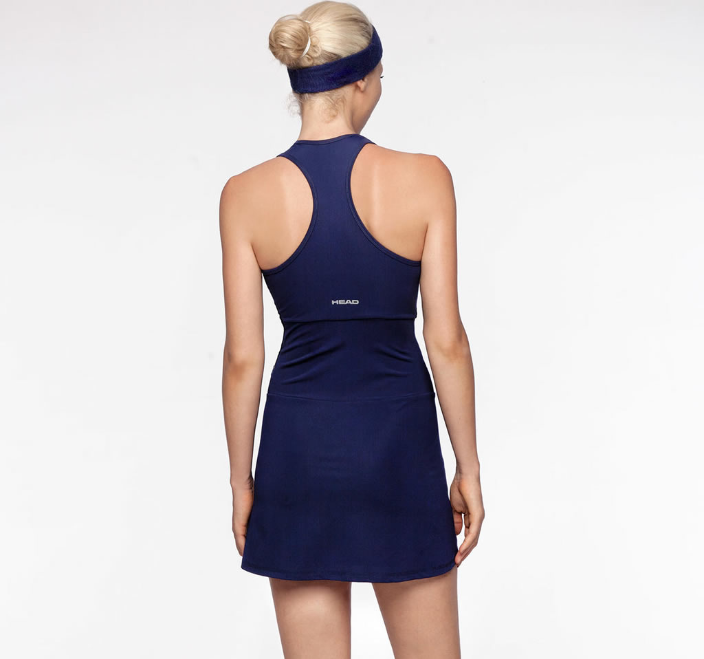HEAD EOS Tennis Dress, Back