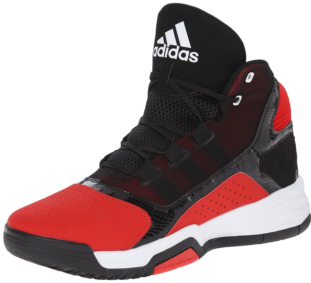 Red Basketball Shoes For Men by Adidas
