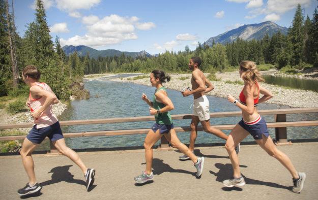 Tracksmith Run-Cannonball-Run shorts