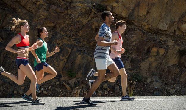 Tracksmith Run shorts