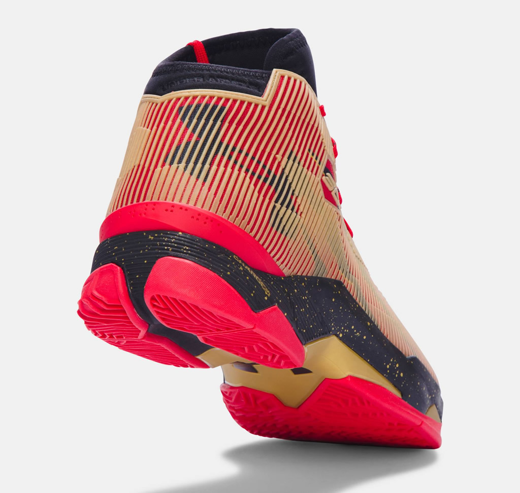 Under Armour All America Curry 2.5Basketball Shoe, Heel Tab