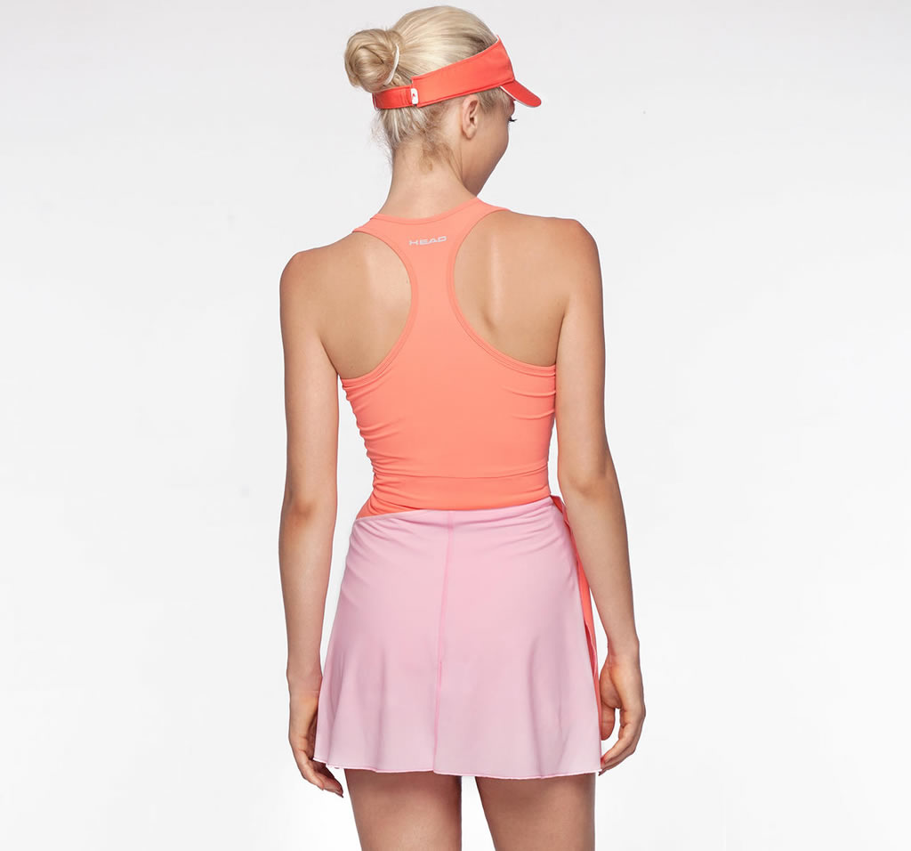 Valasca tennis Dress by HEAD, Back