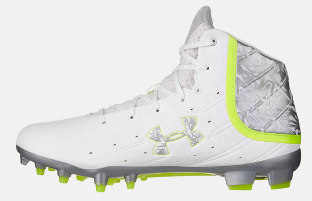6543f213aa47 Men's Banshee Mid MC Lacrosse Cleat By Under Armour