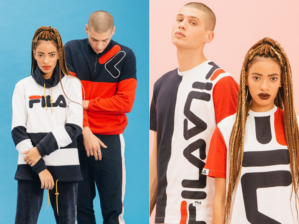 2016 Fall-Winter Collection by FILA, Hoodies