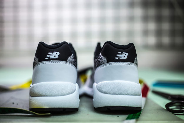 580 Sneaker By New Balance, Heel Tab