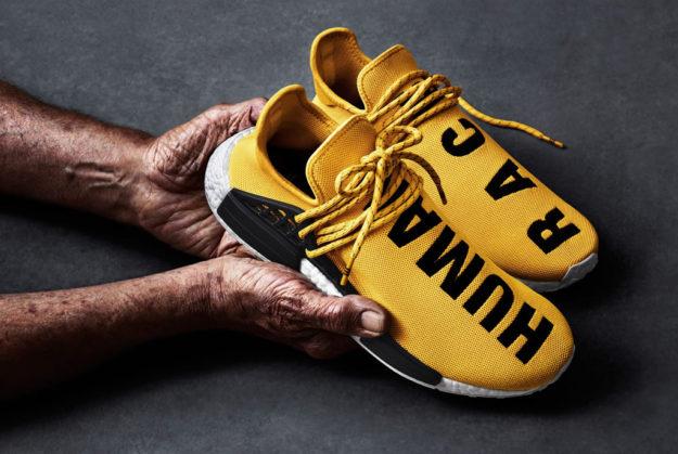 Adidas Originals And Pharrell Williams Hu NMD