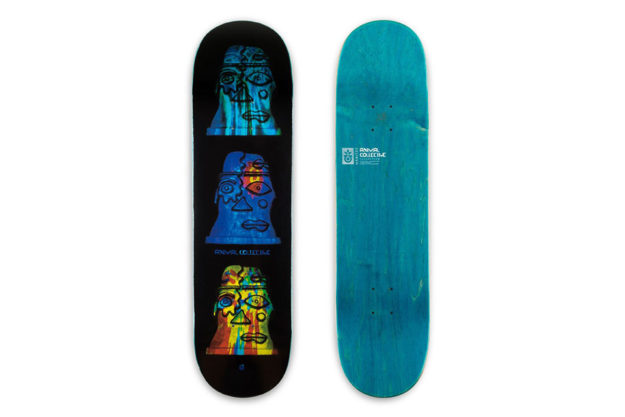 Animal Collective Awesome Skateboards
