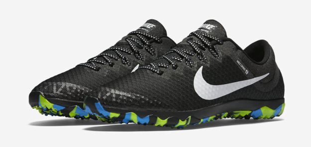 Black Nike Zoom Rival Waffle XC Shoe