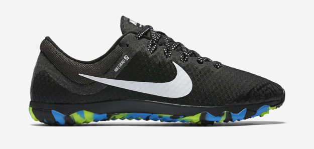 Black Nike Zoom Rival Waffle XC Unisex Track Shoe
