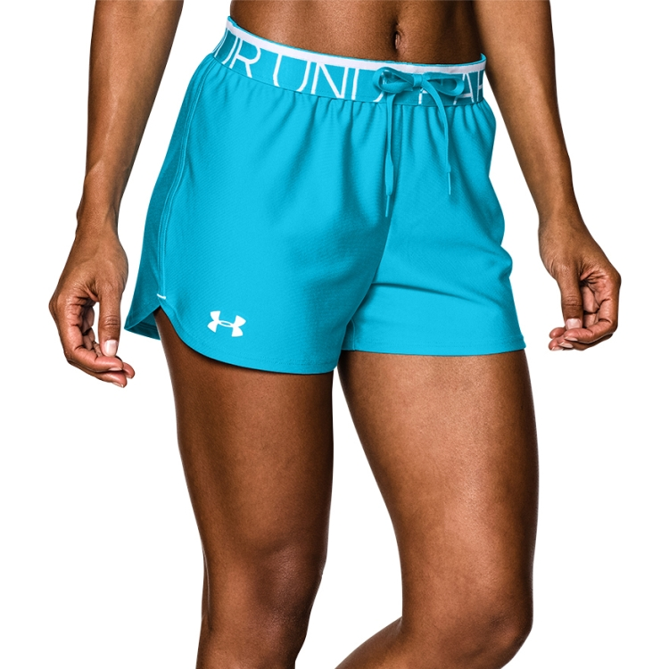 ... Blue Women's Play Up Shorts By Under Armour ...