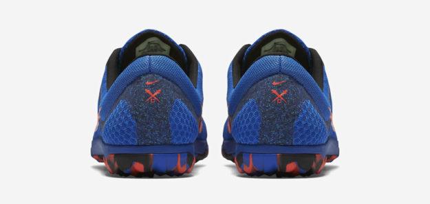 Cobalt Nike Zoom Rival Waffle XC Track Shoe, Heel Tab
