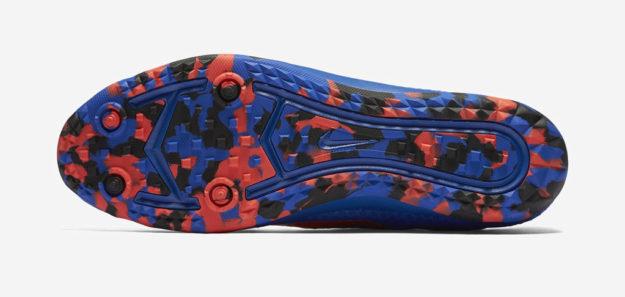 Cobalt Nike Zoom Rival Waffle XC Track Shoe, Sole