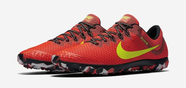 Crimson Nike Zoom Rival Waffle XC Shoe