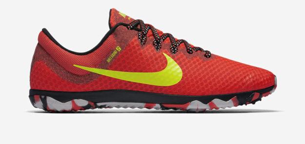 Crimson Nike Zoom Rival Waffle XC Unisex Track Shoe