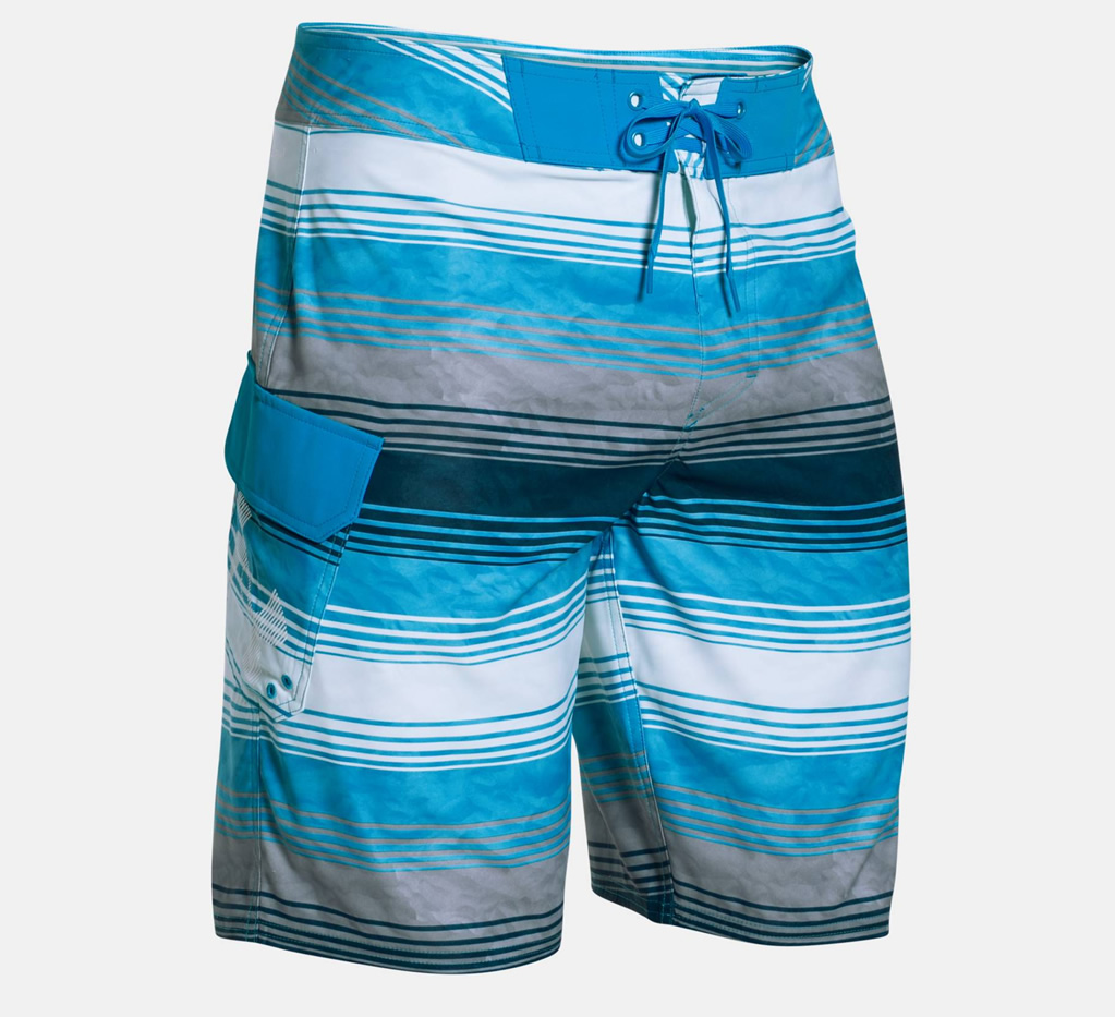 Electric Blue Reblek Boardshorts By Under Armour