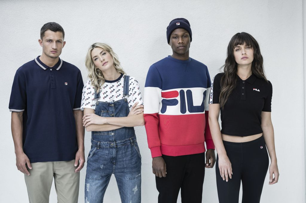 FILA North America Unveils Fall 2016 Heritage Collection